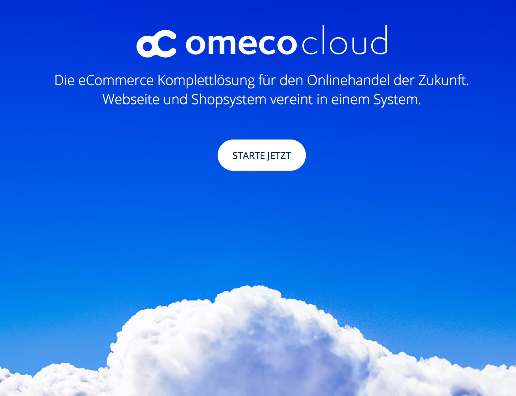 OmecoCloud: Shopsystem bereits ab 19 € mtl.